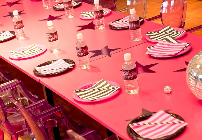 Kara's Party Ideas Pink Disco Party via KarasPartyIdeas ...