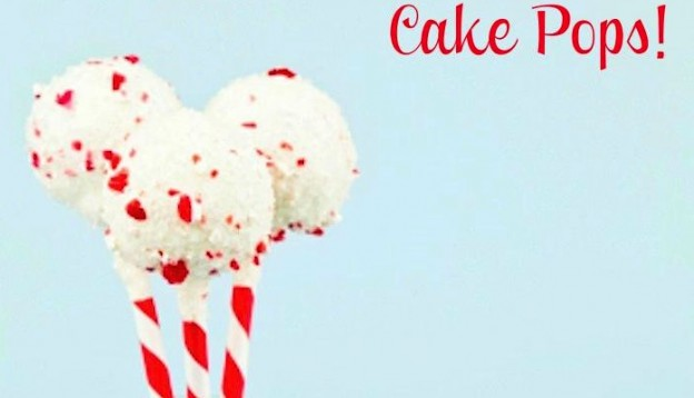 Easy and the best  PEPPERMINT CAKE POPS RECIPE via Kara's Party Ideas - THE Place for ALL things PARTY! KarasPartyIdeas.com 2