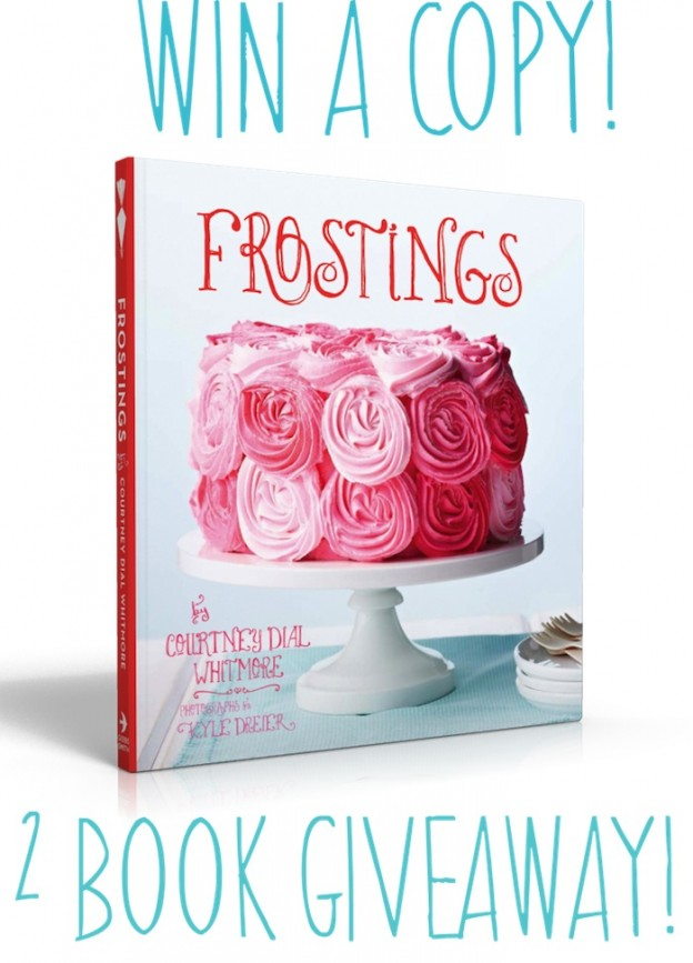 Frostings Book Giveaway on Kara's Party Ideas www.KarasPartyIdeas.com