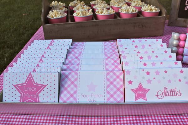 Karas Party Ideas Under the Stars Tween Teen Girl Birthday