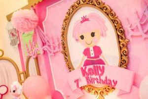 Lalaloopsy Beauty Parlor Party via Kara's Party Ideas #lalaloopsy #spa #makeover #party #planning #idea #decorations (24)