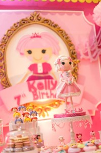 Lalaloopsy Beauty Parlor Party via Kara's Party Ideas #lalaloopsy #spa #makeover #party #planning #idea #decorations (18)