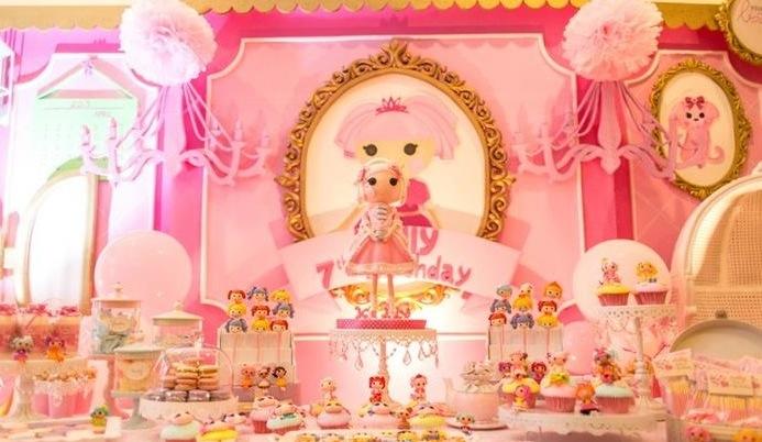 Kara S Party Ideas Lalaloopsy Beauty Parlor Spa Makeover