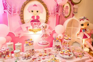 Lalaloopsy Beauty Parlor Party via Kara's Party Ideas #lalaloopsy #spa #makeover #party #planning #idea #decorations (10)