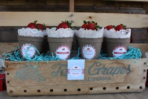 Strawberries & Cream Party via Kara's Party Ideas #Strawberry #IceCream #social #summer #idea #decorations (37)
