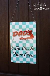 1950's Diner Party via Kara's Party Ideas #1950s #diner #FathersDay #retro #party #idea #decorations (35)