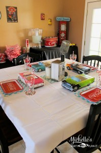 1950's Diner Party via Kara's Party Ideas #1950s #diner #FathersDay #retro #party #idea #decorations (34)