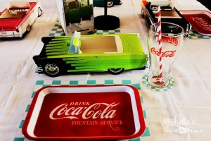 1950's Diner Party via Kara's Party Ideas #1950s #diner #FathersDay #retro #party #idea #decorations (33)