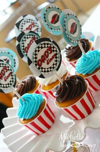 1950's Diner Party via Kara's Party Ideas #1950s #diner #FathersDay #retro #party #idea #decorations (27)