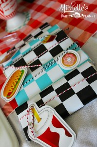 1950's Diner Party via Kara's Party Ideas #1950s #diner #FathersDay #retro #party #idea #decorations (8)