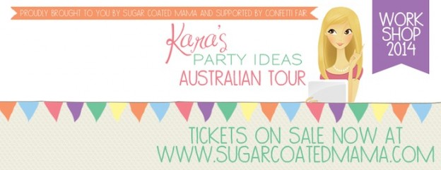 Kara's Party Ideas Australian New Zealand Tour karaspartyideas.com