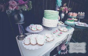Mint and Pink Dessert Table via Kara's Party Ideas | Kara'sPartyIdeas.com #Wedding #Dessert #Table #Planning #Idea (27)