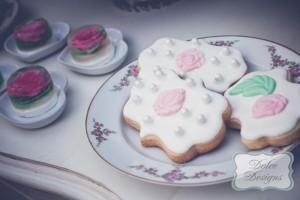 Mint and Pink Dessert Table via Kara's Party Ideas   Kara'sPartyIdeas.com #Wedding #Dessert #Table #Planning #Idea (14)