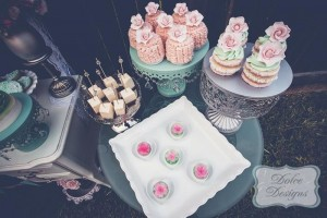 Mint and Pink Dessert Table via Kara's Party Ideas | Kara'sPartyIdeas.com #Wedding #Dessert #Table #Planning #Idea (12)