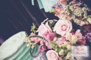 Mint and Pink Dessert Table via Kara's Party Ideas   Kara'sPartyIdeas.com #Wedding #Dessert #Table #Planning #Idea (10)