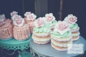 Mint and Pink Dessert Table via Kara's Party Ideas | Kara'sPartyIdeas.com #Wedding #Dessert #Table #Planning #Idea (9)