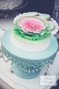 Mint and Pink Dessert Table via Kara's Party Ideas | Kara'sPartyIdeas.com #Wedding #Dessert #Table #Planning #Idea (7)