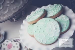 Mint and Pink Dessert Table via Kara's Party Ideas | Kara'sPartyIdeas.com #Wedding #Dessert #Table #Planning #Idea (6)