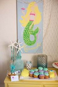 #mermaid #birthday #party #ideas #cake #supplies #decorations #planning #party (9)