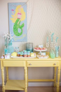 #mermaid #birthday #party #ideas #cake #supplies #decorations #planning #party (5)