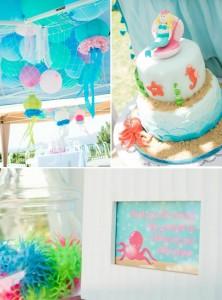 Mermaid Princess Birthday Party with LOTS OF CUTE IDEAS via Kara's Party Ideas | Kara'sPartyIdeas.com #UnderTheSea #party #ideas #supplies