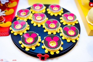 Mickey Mouse Party via Kara's Party Ideas #MinnieMouse #party #planning #idea #decorations #GenderNeutral (17)