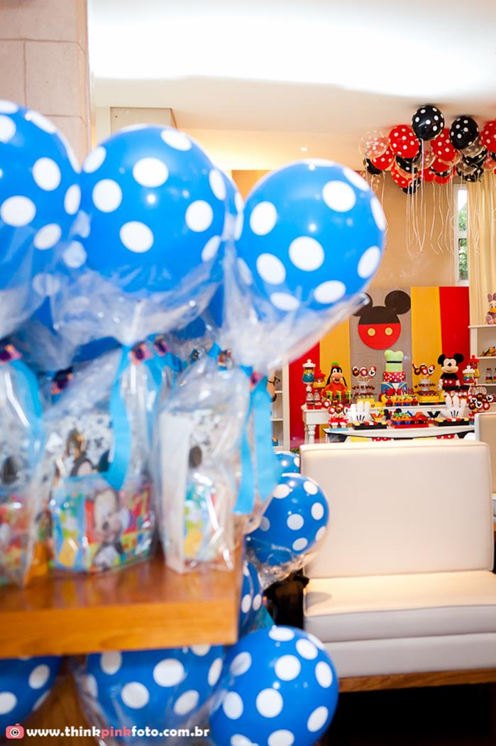 Kara 39 s party ideas mickey mouse birthday party via kara 39 s for Baby mickey decoration ideas