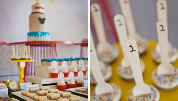 Mickey Mouse themed birthday party full of ideas via karasPartyIdeas.com - THE place for ALL things PARTY! #mickeymouse #mickeymouseparty #mickeymousepartysupplies
