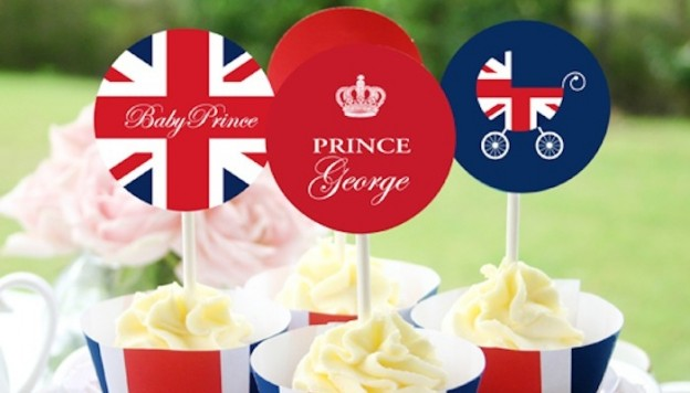 Royal Baby Prince George FREE printables! Party, baby shower and more! 2