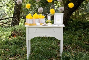 Dandelion Baby Shower via Kara's Party Ideas #dandelion #BabyShower #PartyPlanning #idea #PartyDecorations (7)