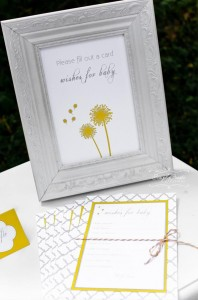 Dandelion Baby Shower via Kara's Party Ideas #dandelion #BabyShower #PartyPlanning #idea #PartyDecorations (2)