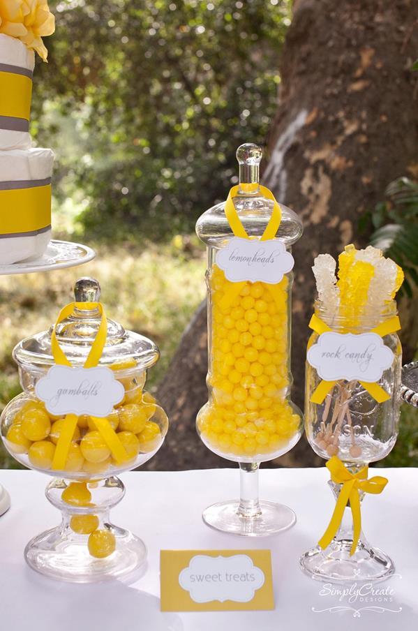 Dandelion Baby Shower Via Karau0027s Party Ideas #dandelion #BabyShower  #PartyPlanning #idea #