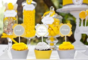 Dandelion Baby Shower via Kara's Party Ideas #dandelion #BabyShower #PartyPlanning #idea #PartyDecorations (13)