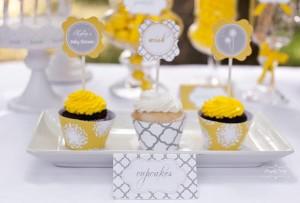Dandelion Baby Shower via Kara's Party Ideas #dandelion #BabyShower #PartyPlanning #idea #PartyDecorations (12)