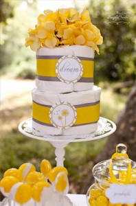 Dandelion Baby Shower via Kara's Party Ideas #dandelion #BabyShower #PartyPlanning #idea #PartyDecorations (9)