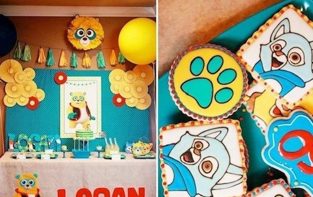 Kara S Party Ideas Special Agent Oso Bear Spy Disney