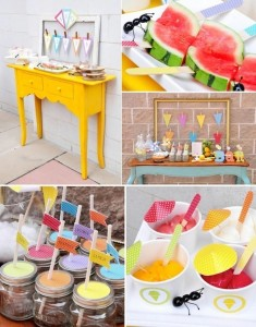 Summer Grilling BBQ party with TONS of ideas! Via Kara's Party Ideas KarasPartyIdeas.com