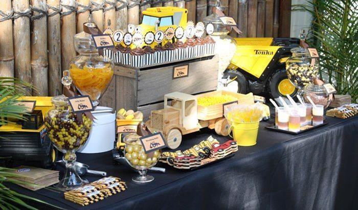 Construction Truck Party Planning Ideas Decorations Supplies Idea