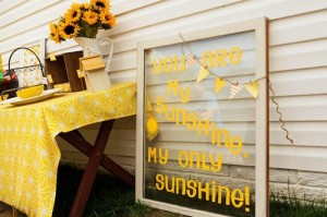 #YouAreMySunshine #party #planning #birthday #supplies #ideas #cake #decorations (23)