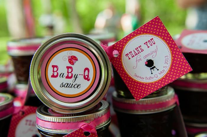Karas Party Ideas Girly Bbq Baby Shower Girl Ideas Supplies Idea