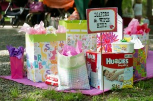 BBQ Themed Girl Baby Shower via Kara's Party Ideas #party #planning #idea #decorations (5)