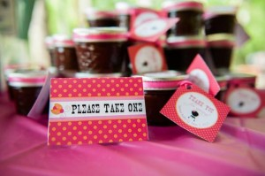 BBQ Themed Girl Baby Shower via Kara's Party Ideas #party #planning #idea #decorations (3)