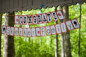 BBQ Themed Girl Baby Shower via Kara's Party Ideas #party #planning #idea #decorations (2)