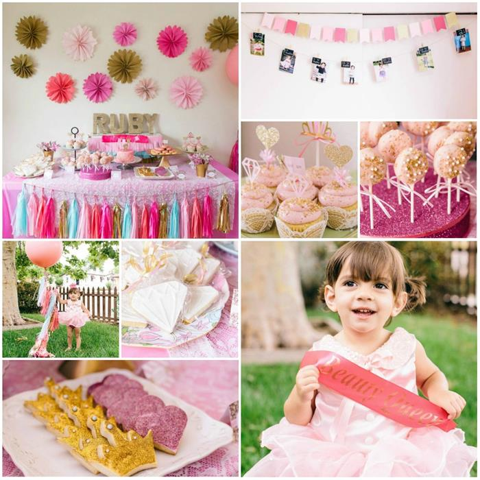Kara 39 s party ideas beauty queen birthday party with lots for 2nd birthday party decoration