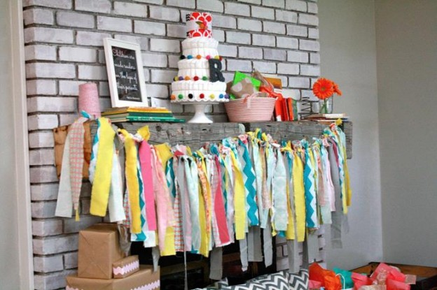Colorful Book Baby Shower #planning #idea #cake #Girl #boy #decorations (5)