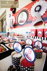 Disney Cars Party via Kara's Party Ideas | Kara'sPartyIdeas.com #Disney #RaceCar #Party #Idea #mybestwishes (36)