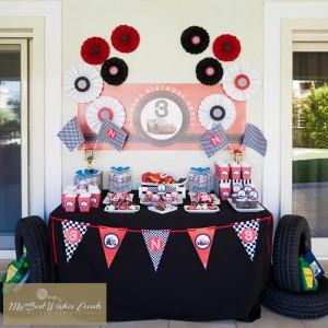 Disney Cars Party via Kara's Party Ideas | Kara'sPartyIdeas.com #Disney #RaceCar #Party #Idea #mybestwishes (19)