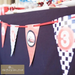Disney Cars Party via Kara's Party Ideas | Kara'sPartyIdeas.com #Disney #RaceCar #Party #Idea #mybestwishes (13)