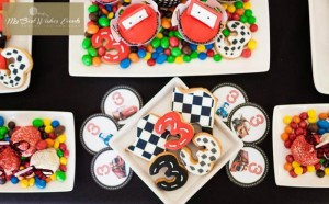 Disney Cars Party via Kara's Party Ideas | Kara'sPartyIdeas.com #Disney #RaceCar #Party #Idea #mybestwishes (5)