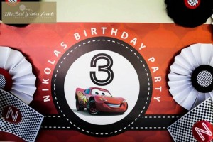 Disney Cars Party via Kara's Party Ideas | Kara'sPartyIdeas.com #Disney #RaceCar #Party #Idea #mybestwishes (4)